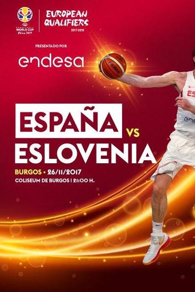 España-Eslovenia Selección Masculina de Baloncesto