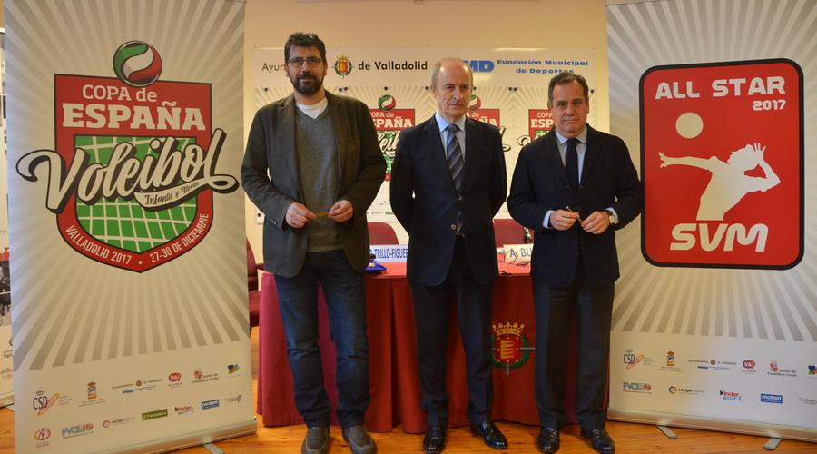 La Copa de España de Voleibol reunirá en Valladolid a 1.400 jugadores del 27 al 30 de diciembre