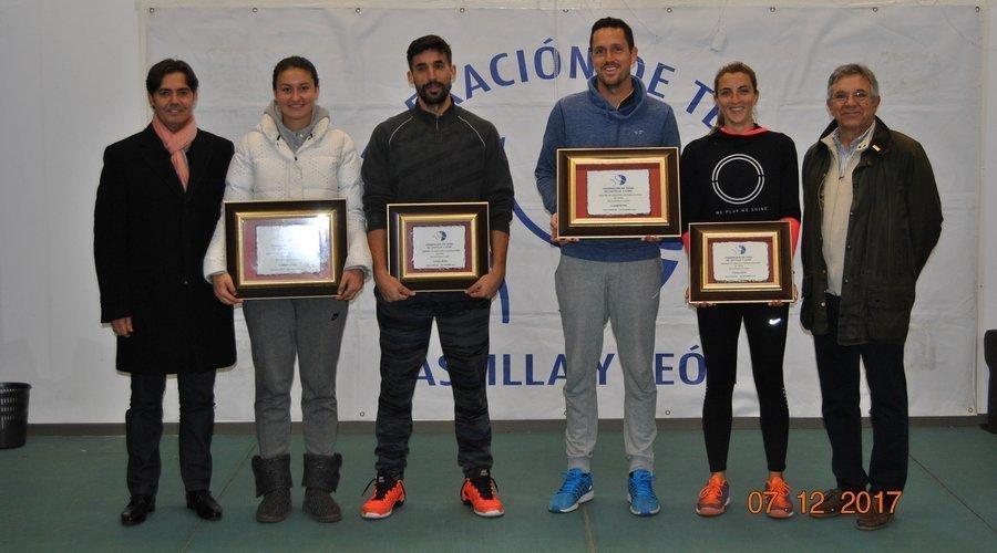 Valladolid ha acogido las finales del III Circuito Internacional y Nacional de Tenis de Castilla y León