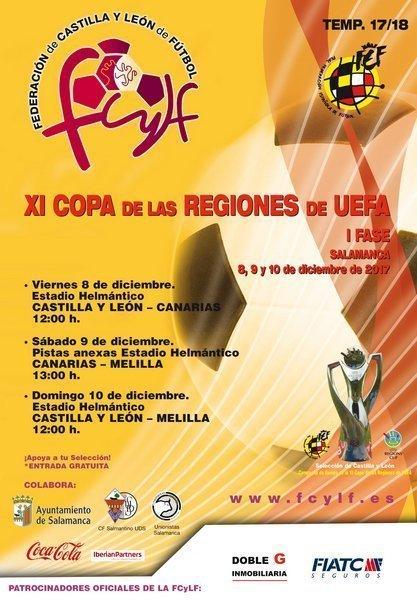 XI Copa de Regiones UEFA. Canarias – Melilla