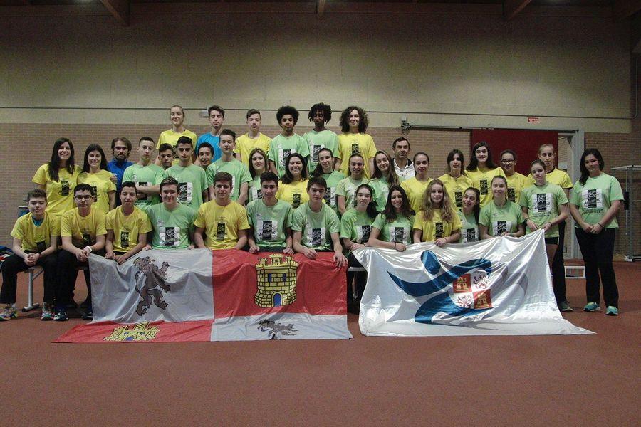 40 atletas de Castilla y León se concentran en el CAR de León durante el Puente de la Constitución