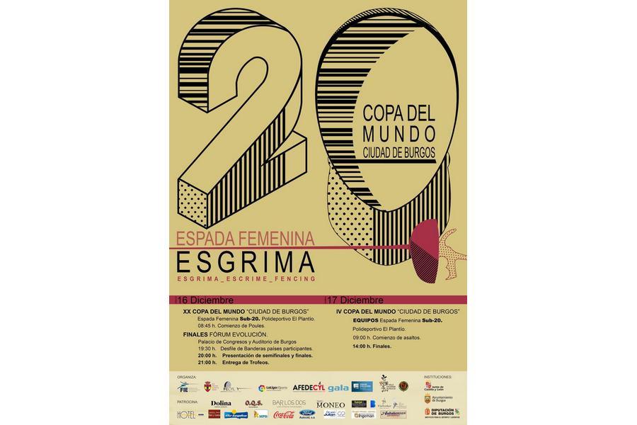 Burgos acoge la XX Copa del Mundo Junior de Espada Femenina, los días 16 y 17 de diciembre