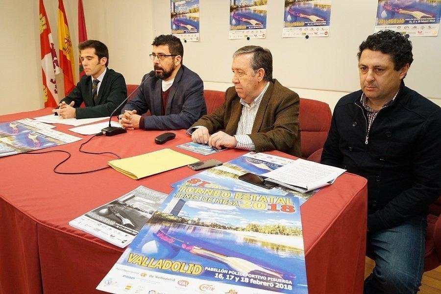 El mejor Tenis de Mesa de España podrá verse en Valladolid del 16 al 18 de febrero