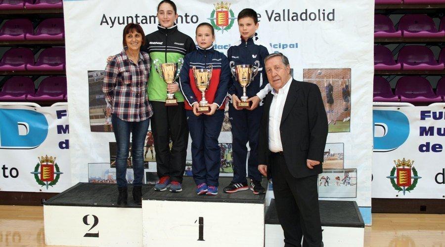 Burgos domina en el Estatal de Tenis de mesa con tres oros en las categorias de menores