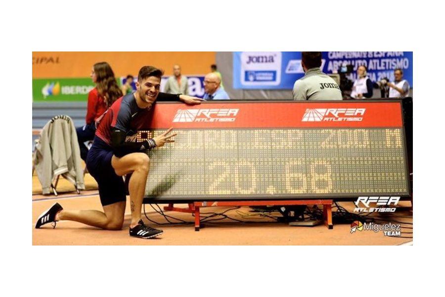 Castilla y León consigue nueve medallas, tres de oro, en el Nacional Absoluto de Atletismo