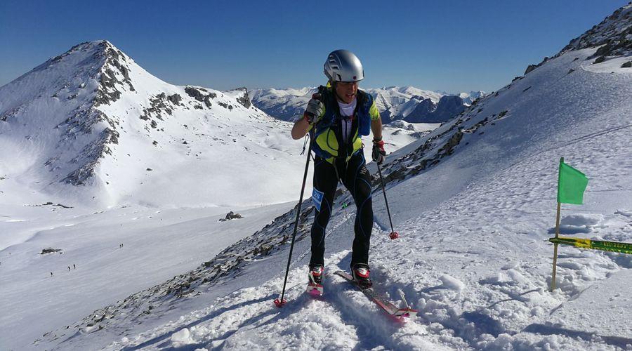 Manuel Morillas, se proclama subcampeón de la Copa de España de esqui de montaña