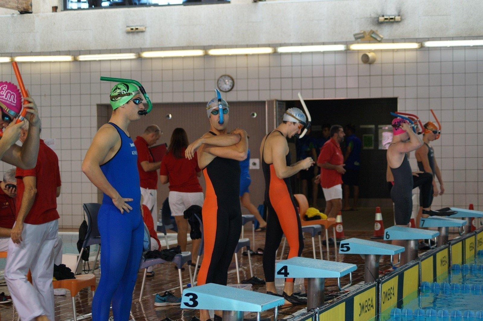 La piscina de r o esgueva acoge el campeonato de espa a de for Piscina rio esgueva