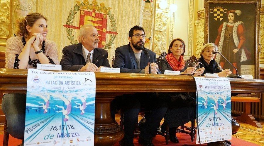 La natación sincronizada se cita en Valladolid en el XIX Campeonato de España de Invierno