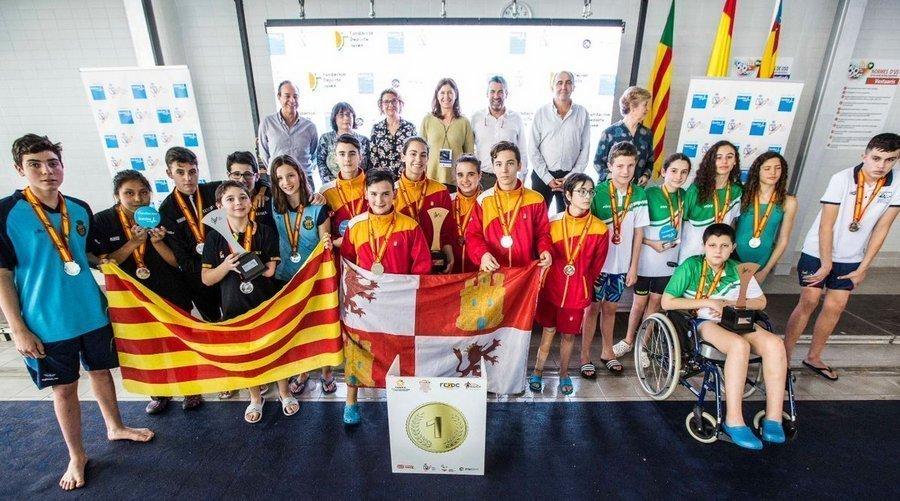 La selección de Castilla y León repite como subcampeona de España en Castellón