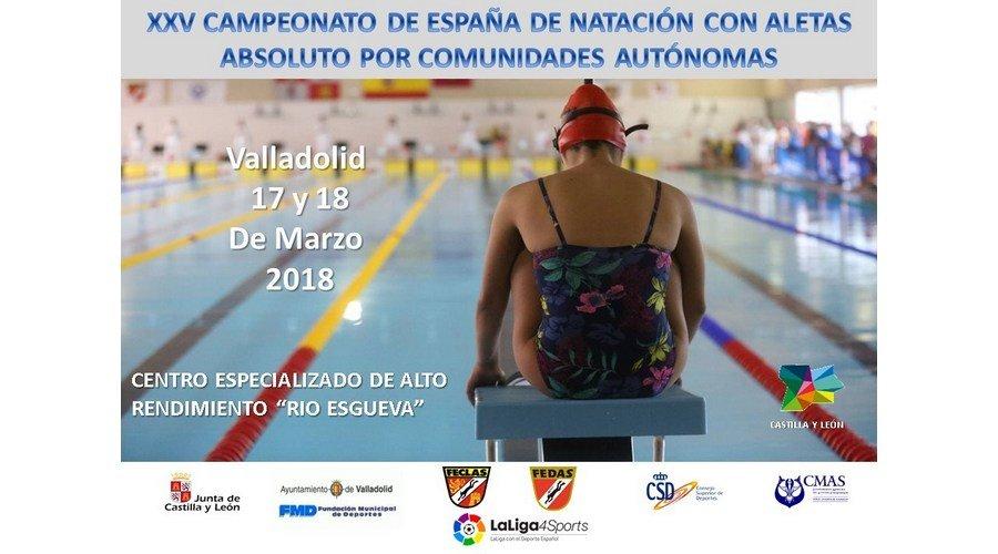 XXV Campeonato de España de Natación con Aletas
