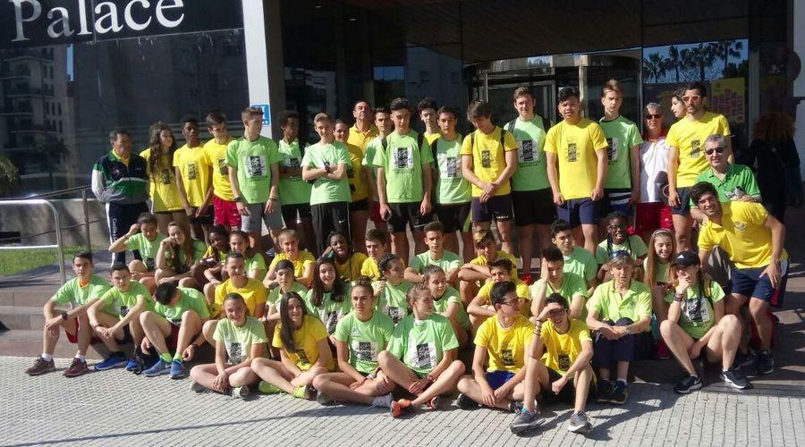 El atletismo de Castilla y León se concentra en Gandia para preparar sus próximas citas nacionales