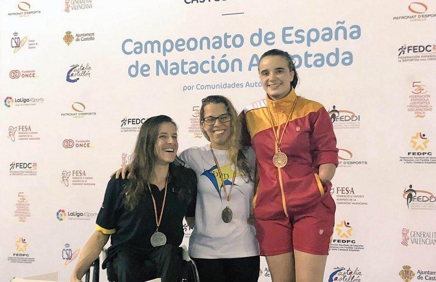 Luis Huerta logra las mínimas para el Campeonato de Europa Paralímpico de Natación en los 100 y 200 libres