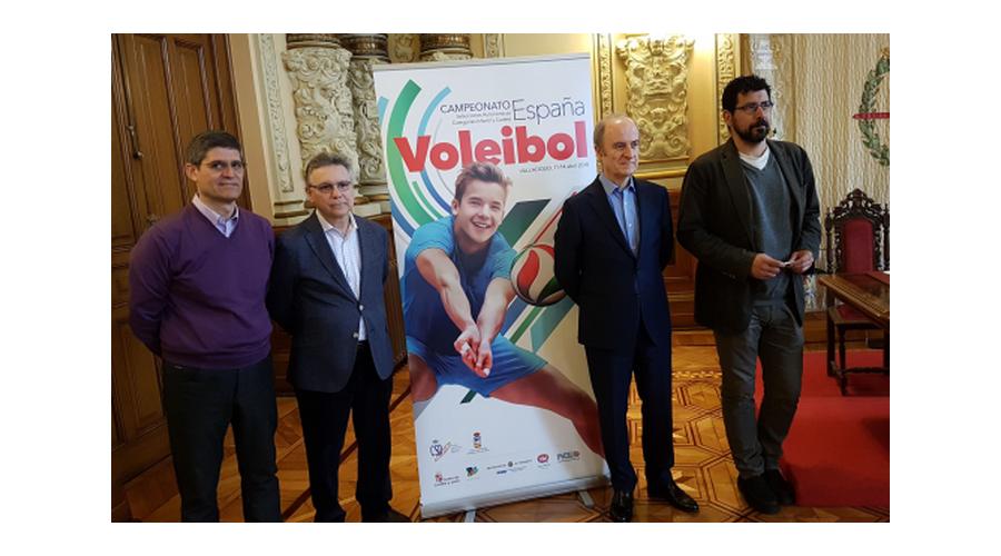 Valladolid se convierte en la capital del voleibol del 11 al 14 de abril