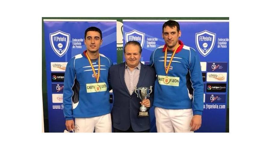 Carlos Baeza e Imanol Ibáñez, se proclaman campeones de España de Pala Corta