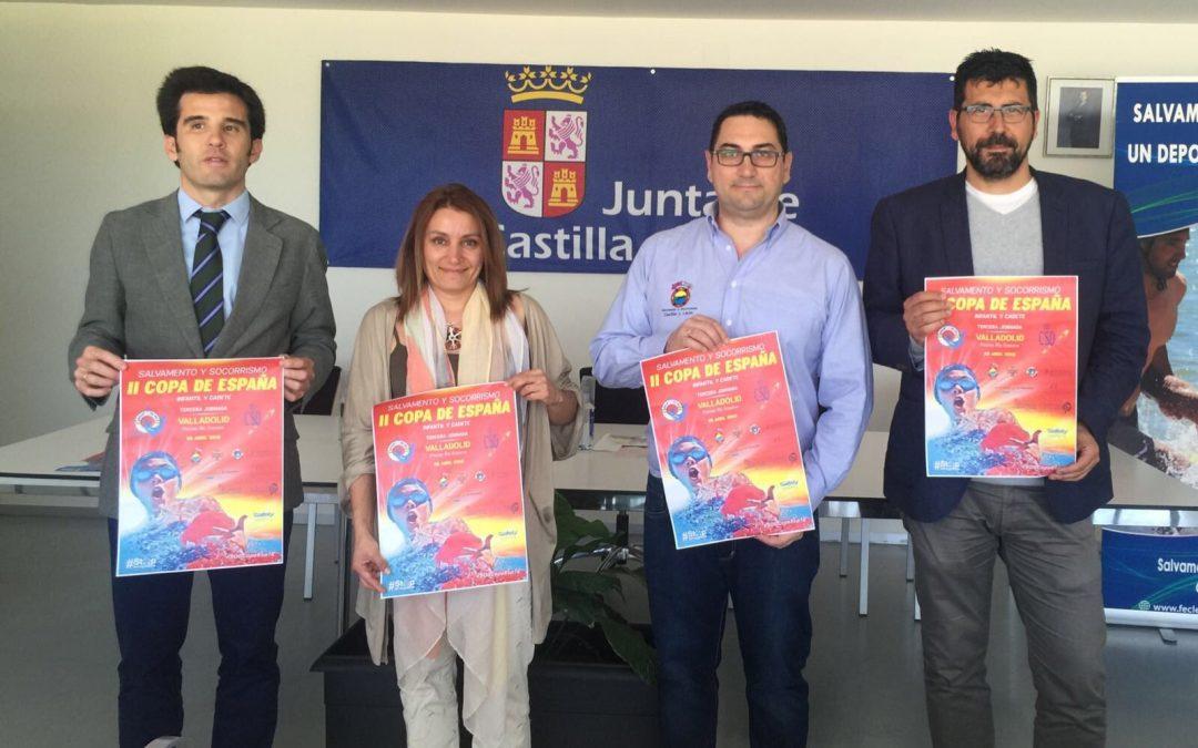 Valladolid acoge la tercera jornada de la II Copa de España de Salvamento y Socorrismo de infantil y cadete