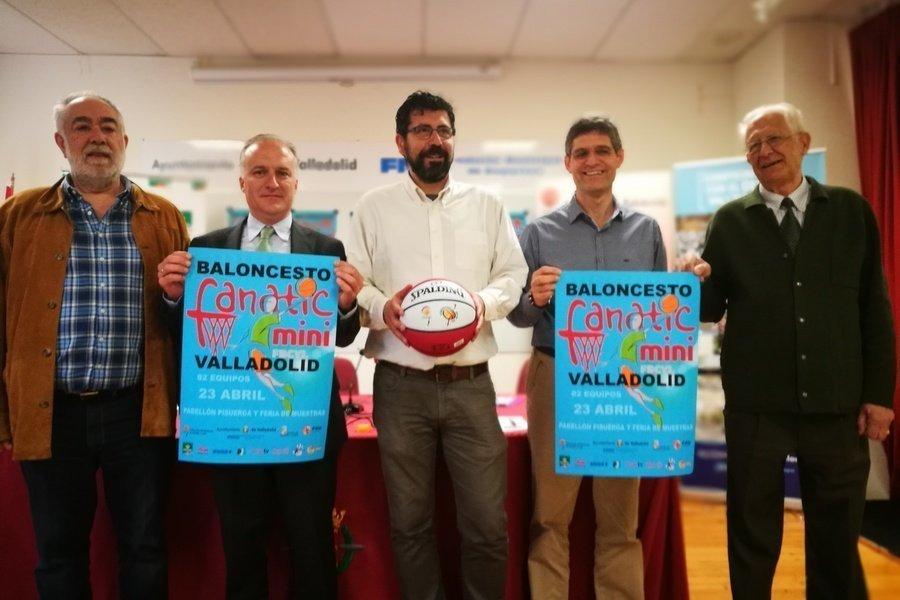 La gran fiesta del Minibasket reunirá en Valladolid a 1.200 jugadores el 23 de abril