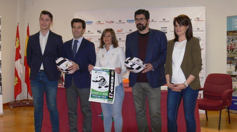 El Pepe Rojo acoge el primer encuentro de rugby inclusivo de Castilla y León
