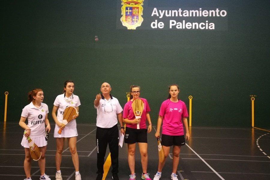 Palencia acoge el campeonato de España de clubes de Paleta Goma masculino y femenino