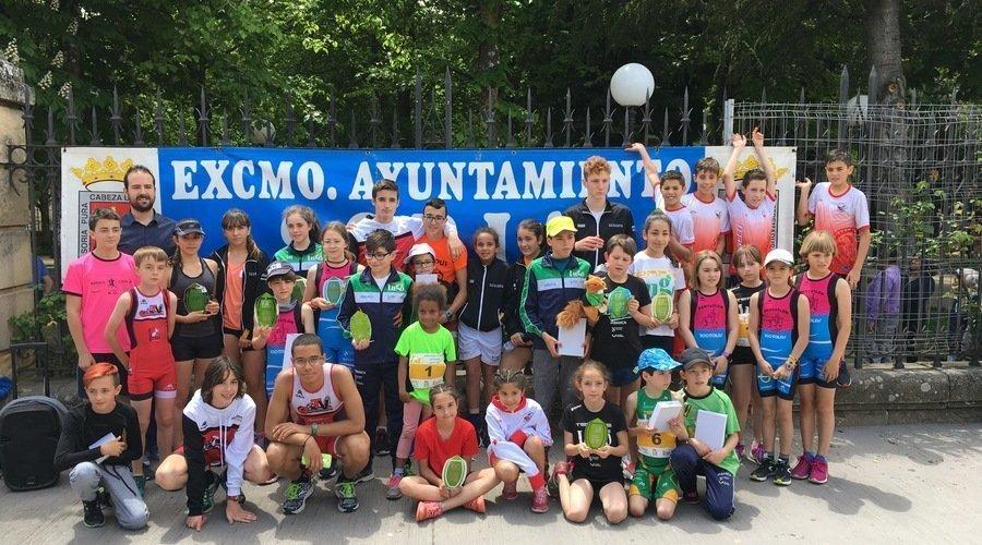 Gran cosecha regional en los nacionales de biatlón y láser run de Soria
