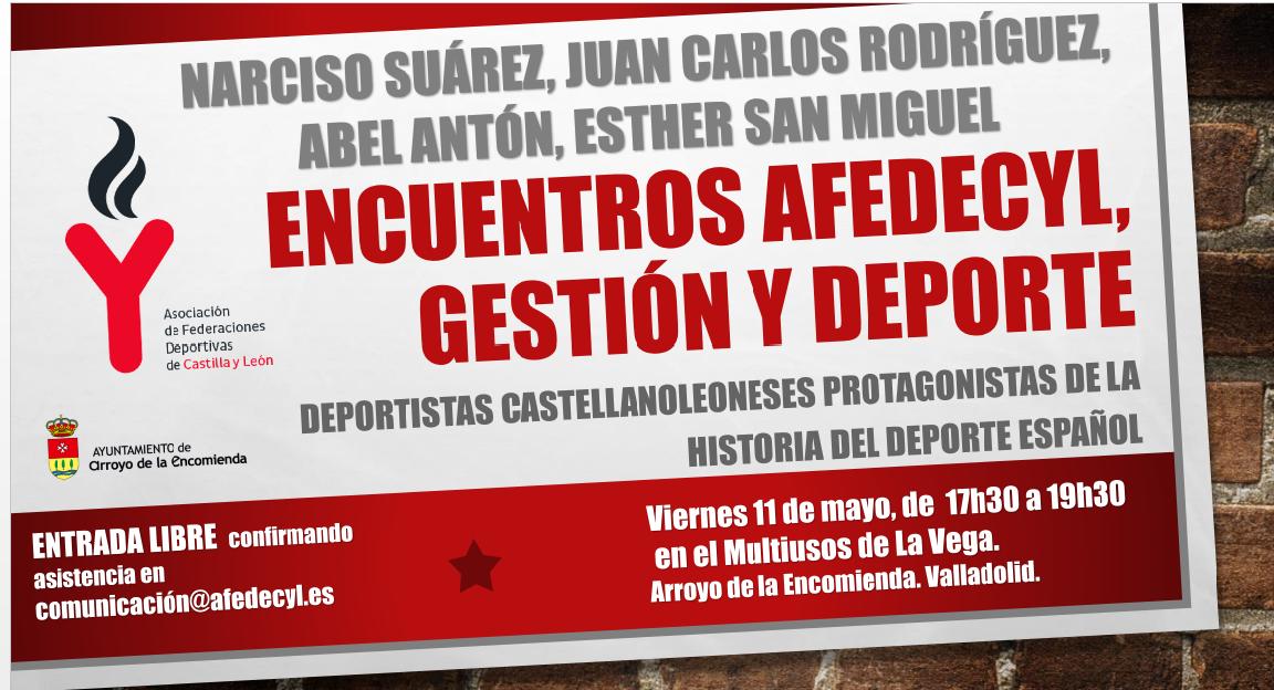 Abel Antón, Narciso Suárez, Juan Carlos Rodríguez y Esther Sanmiguel en el I Encuentro de AFEDECYL