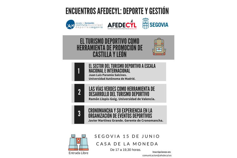 El Turismo deportivo como herramienta de promoción en Castilla y León, esta tarde en la Casa de la Moneda de Segovia