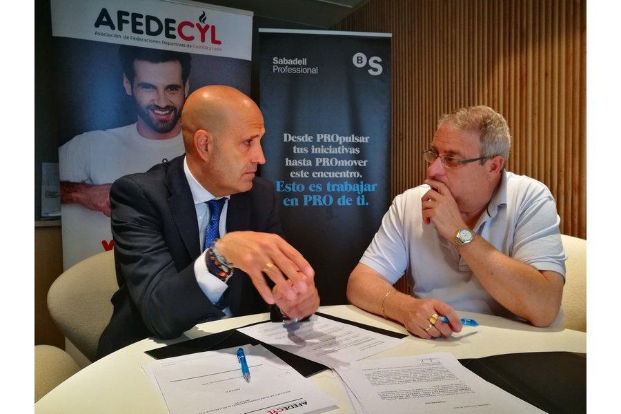 Banco Sabadell firma un convenio con Afedecyl con ventajas financieras para las federaciones