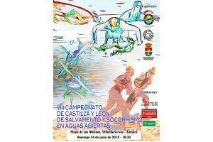 Campeonato de Castilla y León de Salvamento y Socorrismo en Aguas Abiertas @ Vilardeciervos. Zamora. Playa de Los Molinos | Villardeciervos | Castilla y León | España
