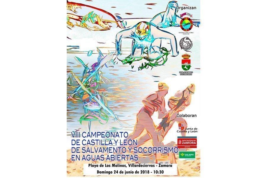 Villardeciervos acoge el Campeonato de Castilla y León de Socorrismo en Aguas Abiertas