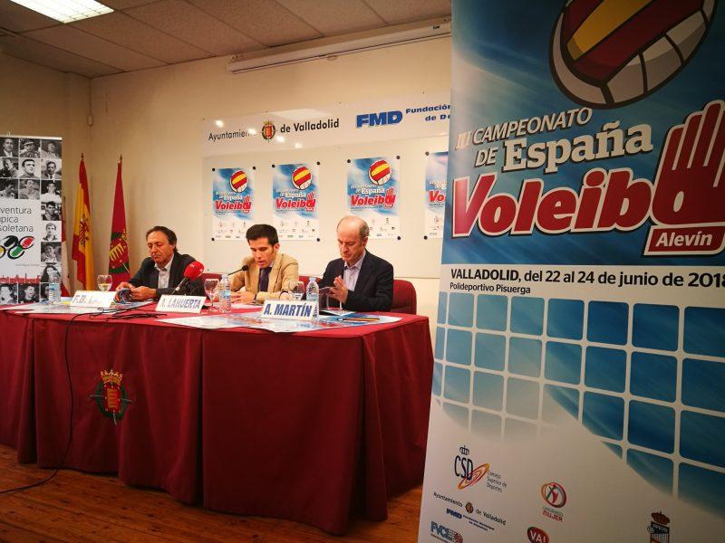 Valladolid, sede del campeonato de España Alevín de Voleibol del 22 al 24 de junio
