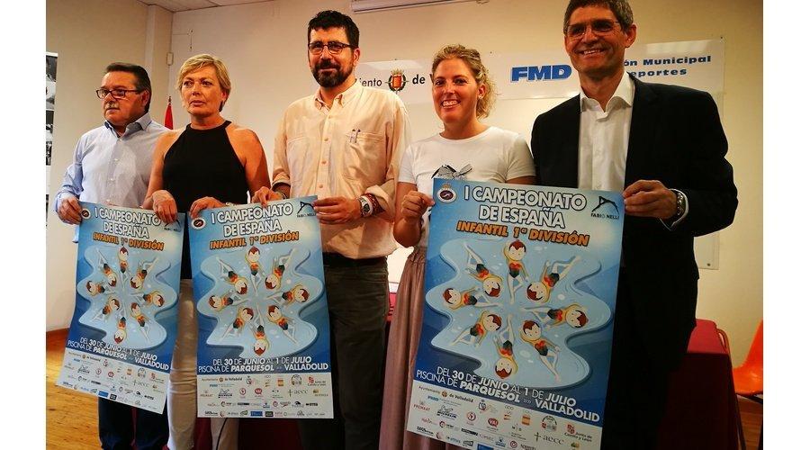 La mejor sincronizada infantil de España podrá verse en la piscina Parquesol