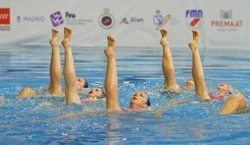 Selena Gómez English y María Macías seleccionadas para el campeonato de Europa junior de natación sincronizada