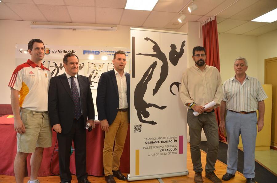 400 gimnastas, 95 de Castilla y León, lucharán por el campeonato de España en Valladolid