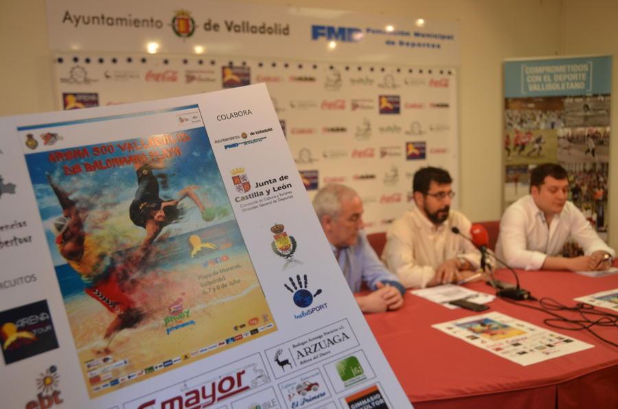 El circuito europeo de Balonmano Playa llega a Las Moreras del 6 al 8 de julio
