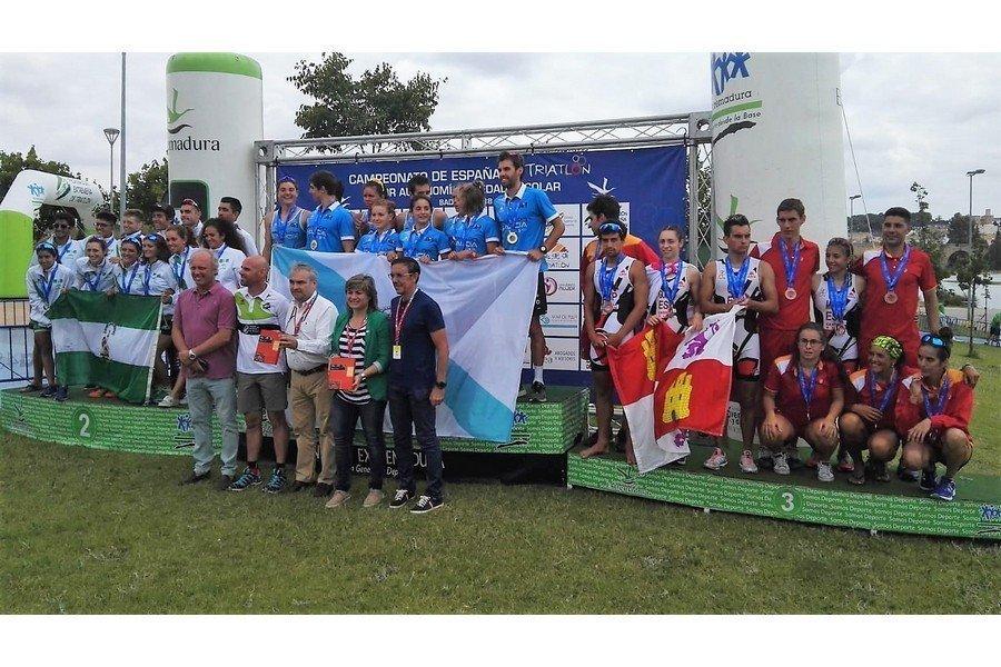 Castilla y León hace historia con un bronce en el Nacional de Triatlón