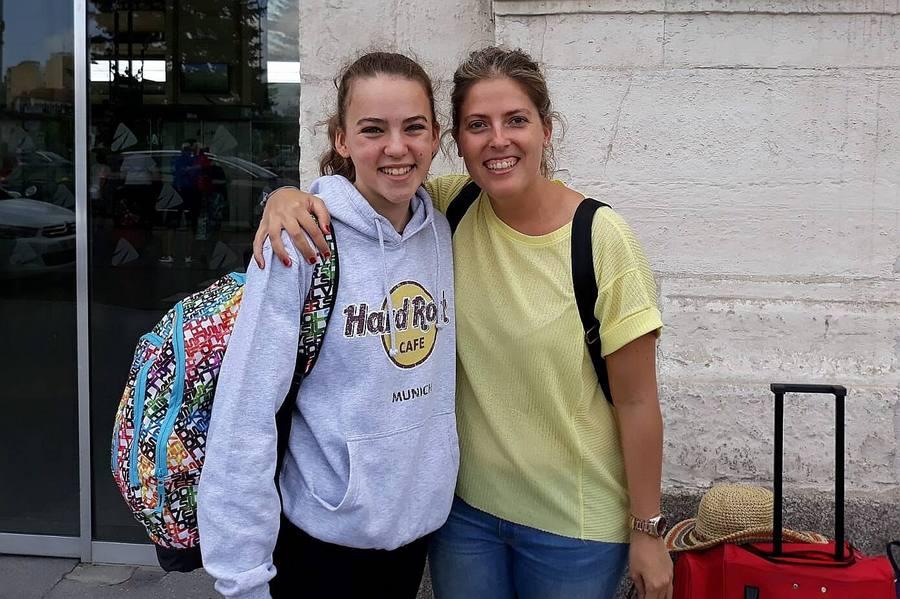Vanessa Gómez convocada con el equipo nacional infantil de natación sincronizada