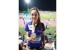 La soriana Raquel Álvarez oro en salto de altura en Getafe.