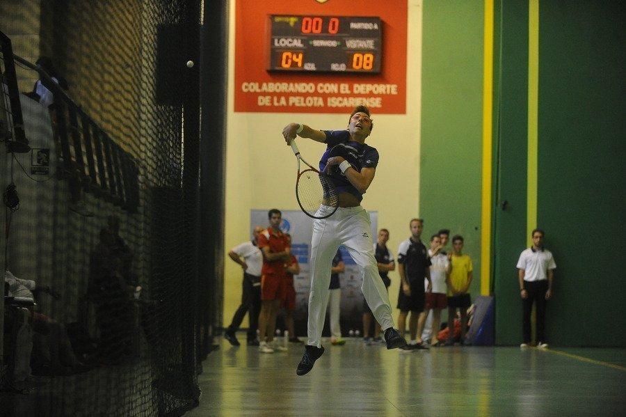 El mejor Frontenis nacional se da cita en Palazuelos (Segovia) del 5 al 7 de octubre en el Torneo de Maestros