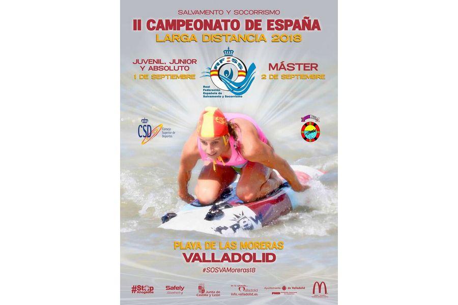 177 socorristas participarán en el campeonato de España de Larga Distancia en Valladolid