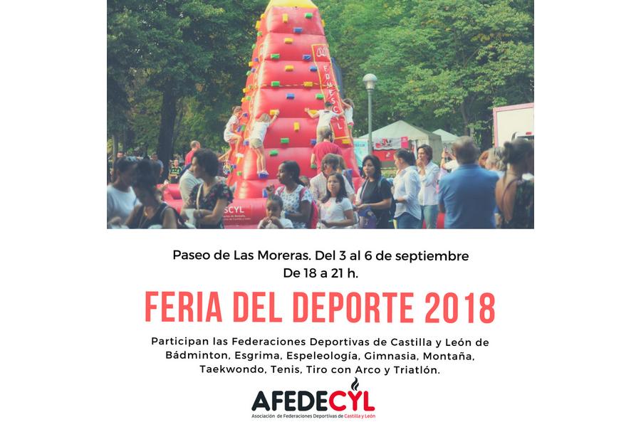 La III Feria del deporte tendrá lugar del 3 al 6 de septiembre en el paseo de Las Moreras