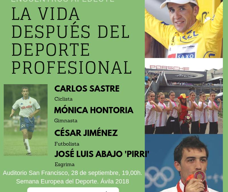 Afedecyl se suma a la Semana Europea del Deporte en Ávila con la jornada: 'La vida después del deporte profesional'
