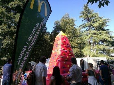 Diez federaciones participan en la III Feria del Deporte de Valladolid