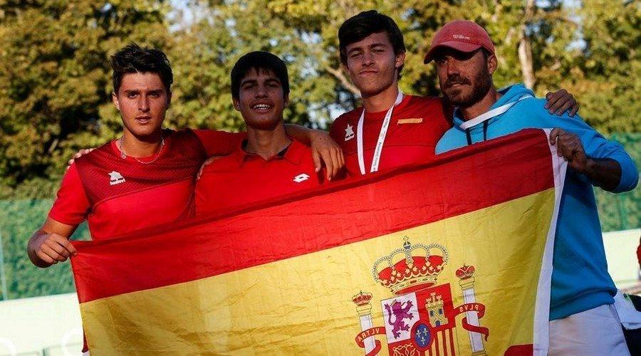 El vallisoletano Mario González se proclama campeón de la copa Davis Junior con España