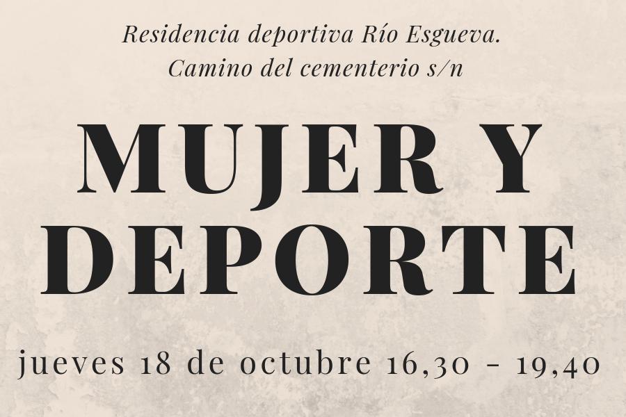 El papel de la mujer en el deporte, a debate, en la residencia deportiva Río Esgueva