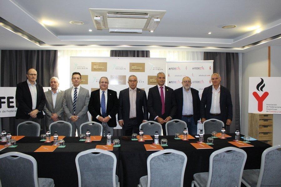 El presidente del COE, Alejandro Blanco, destaca en Valladolid el papel de las federaciones autonómicas en el deporte español