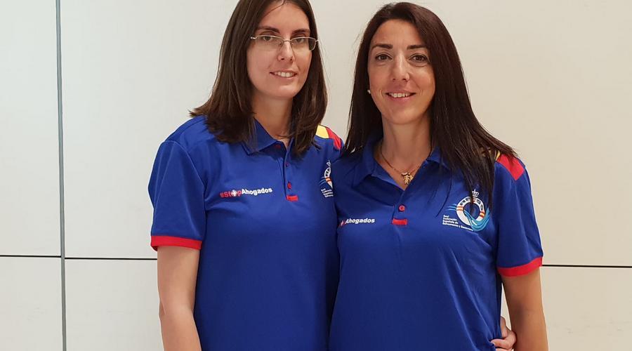 Las árbitros Cristina Pérez y Jessica Pino, convocadas para los Campeonatos del Mundo de Salvamento