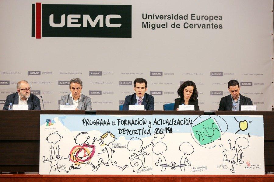 El programa de Formación y Actualización Deportiva de la Junta de Castilla y León se clausura en la UEMC