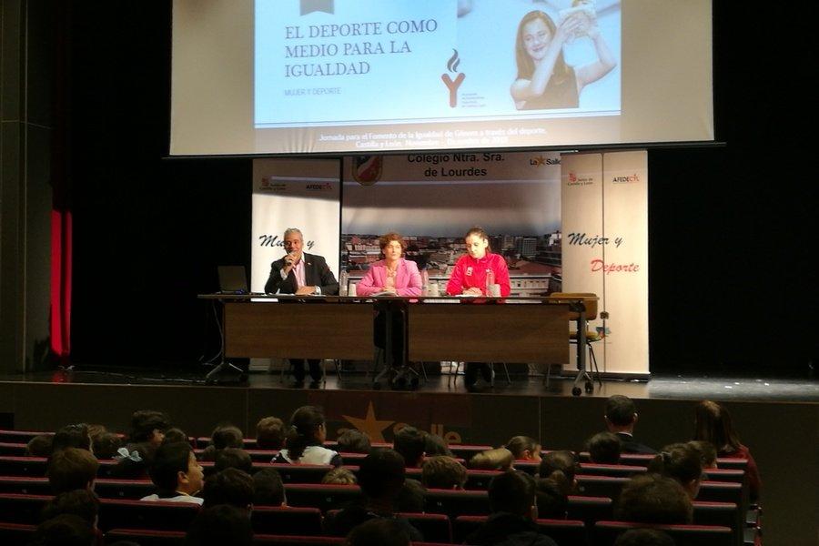 Nueva Jornada de Fomento de la Igualdad en Palencia, con María Rodríguez como embajadora de Afedecyl