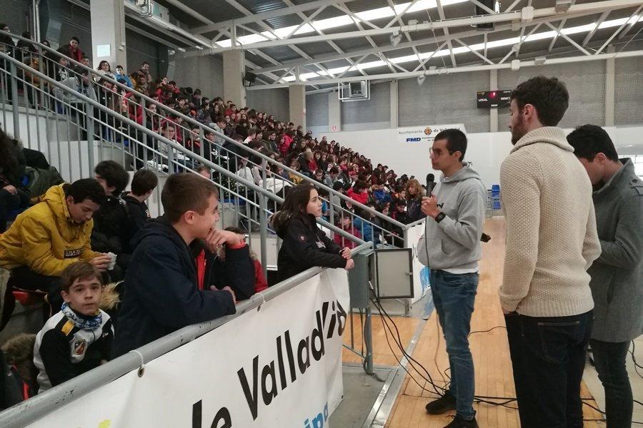 La campaña 'El Deporte Español por la Seguridad en Internet' llega a los centros educativos de Valladolid
