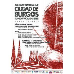 XXI Copa del Mundo Junior espada femenina. Finales @ Burgos | Burgos | Castilla y León | España