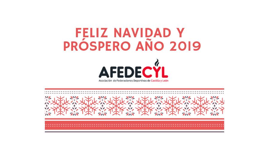 Afedecyl os desea una feliz Navidad y Próspero año 2019